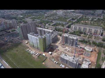 Аэросъемка жилого комплекса «Березовые аллеи» - 12.06.2019г.