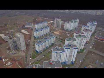 Аэросъемка жилого комплекса «Времена года» - 27.10.2018г.