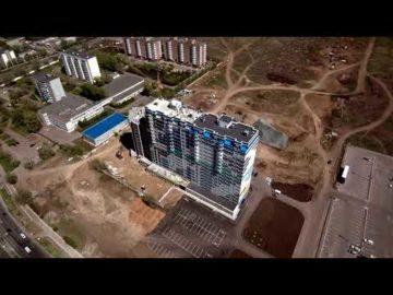 Аэросъемка жилого дома по ул. Терешковой - 05.05.2020г.