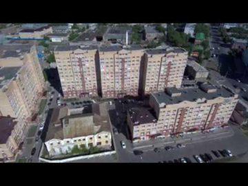 Аэросъемка жилого комплекса «River Side» - 16.06.2018г.