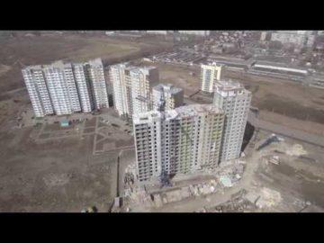 Аэросъемка жилого комплекса «Дубки» - 18.04.2018г.