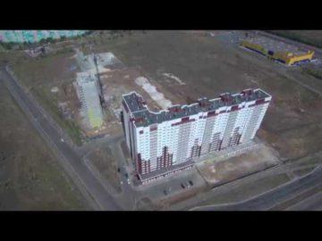 Аэросъемка жилого комплекса «15Б микрорайон» - 26.08.2018г.
