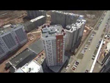 Аэросъемка жилого комплекса «Акварель» - 05.05.2018г.