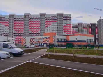 Съемка жилого комплекса «мкр. Маршала Рокоссовского» в г. Оренбурге